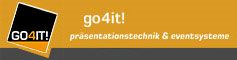 go4it! – präsentationstechnik & eventsysteme